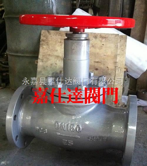 jy41n-日式暗杆燃气截止阀图片