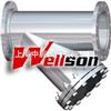 进口碳钢焊接Y型过滤器