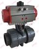 气动塑料球阀(PBV1系列)气动塑料球阀(PBV1系列)